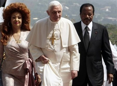 CAMEROON POPE