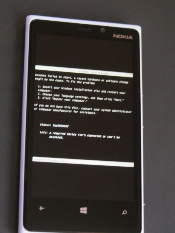Nokia BSOD