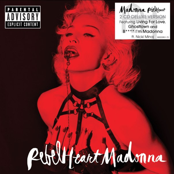 Rebel Heart - Super deluxe cover with stickers