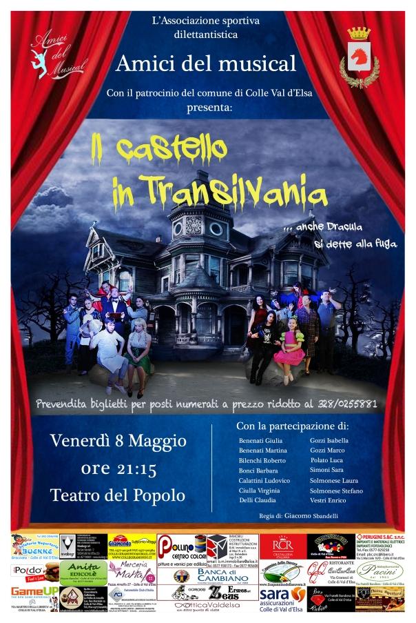 Locandina Il Castello In Transilvania - Amici del Musical